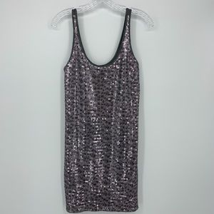 Express sequined Tank Dress Size Small Gently used